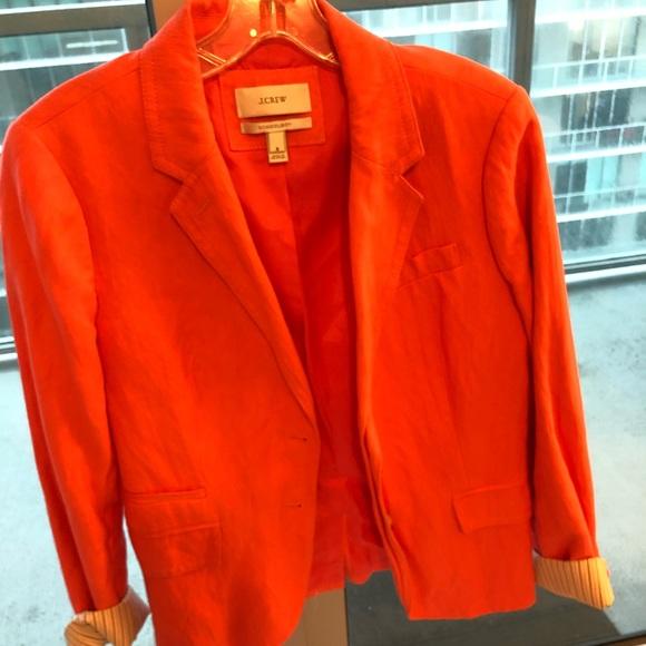 J. Crew Jackets & Blazers - JCrew women's coral blazer